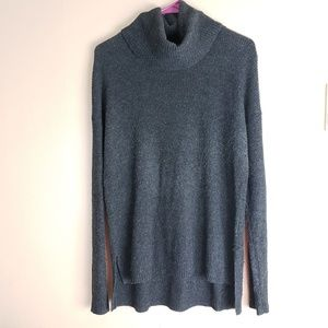 Madewell Gray Turtle Neck Sweater Size Small E20